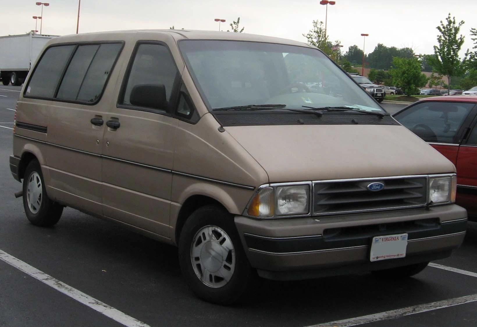 1992 1996 ford aerostar xlt wagon [ 1640 x 1124 Pixel ]
