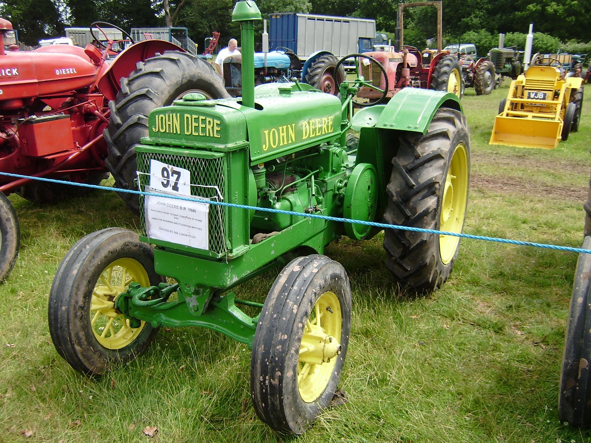 medium resolution of list of john deere tractors