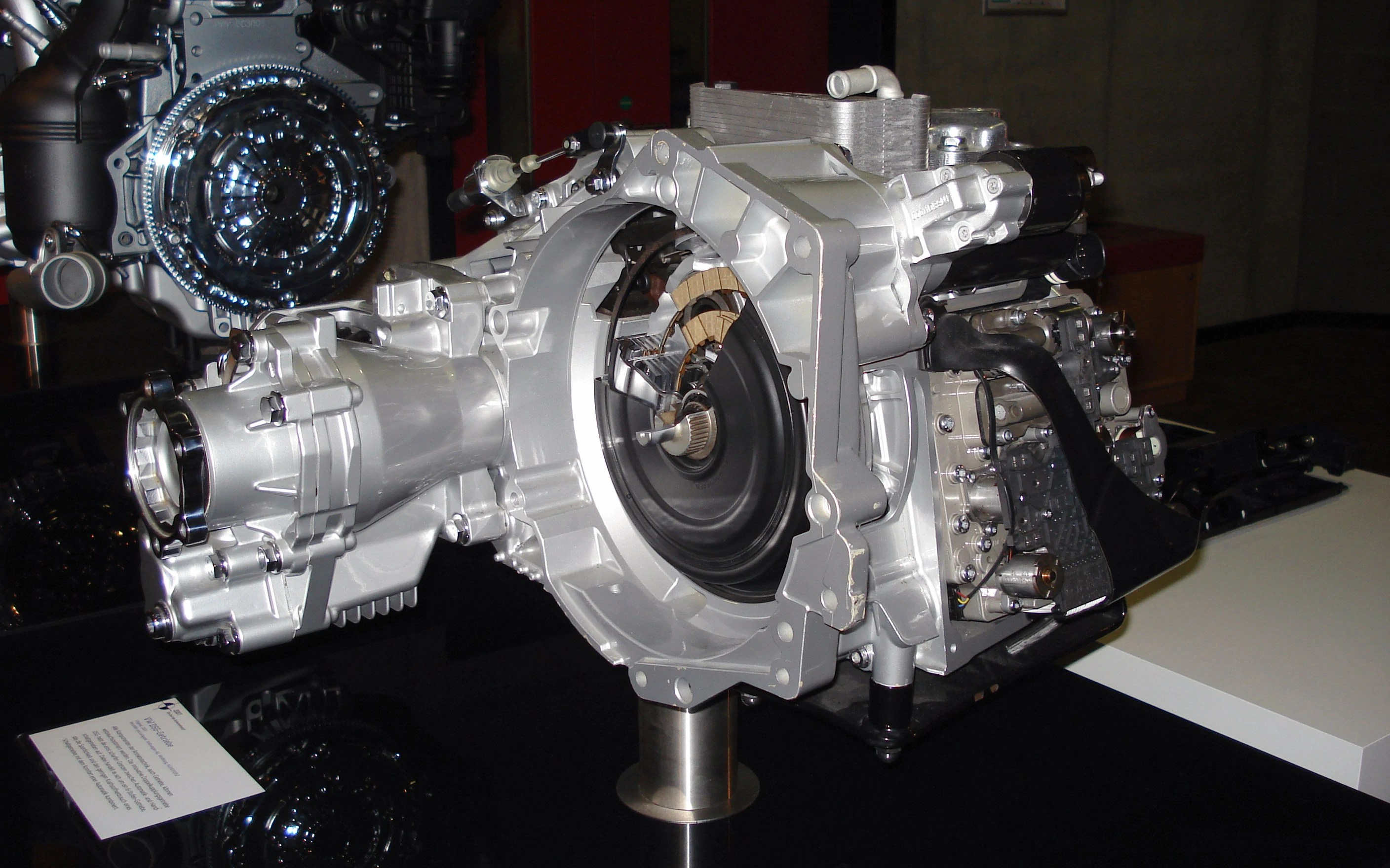 hight resolution of direct shift gearbox