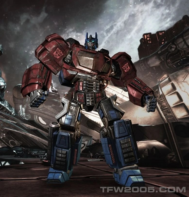 Transformers Fall Of Cybertron 4k Wallpaper Optimus Prime Wfc Teletraan I The Transformers Wiki