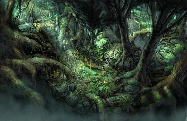 Image Level 3 Jungle Concept Jpg Turok Wiki FANDOM Powered By Wikia