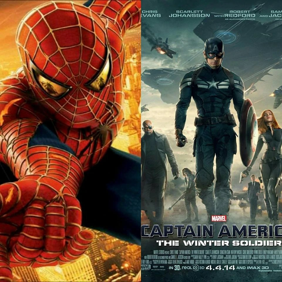 spider man and captain