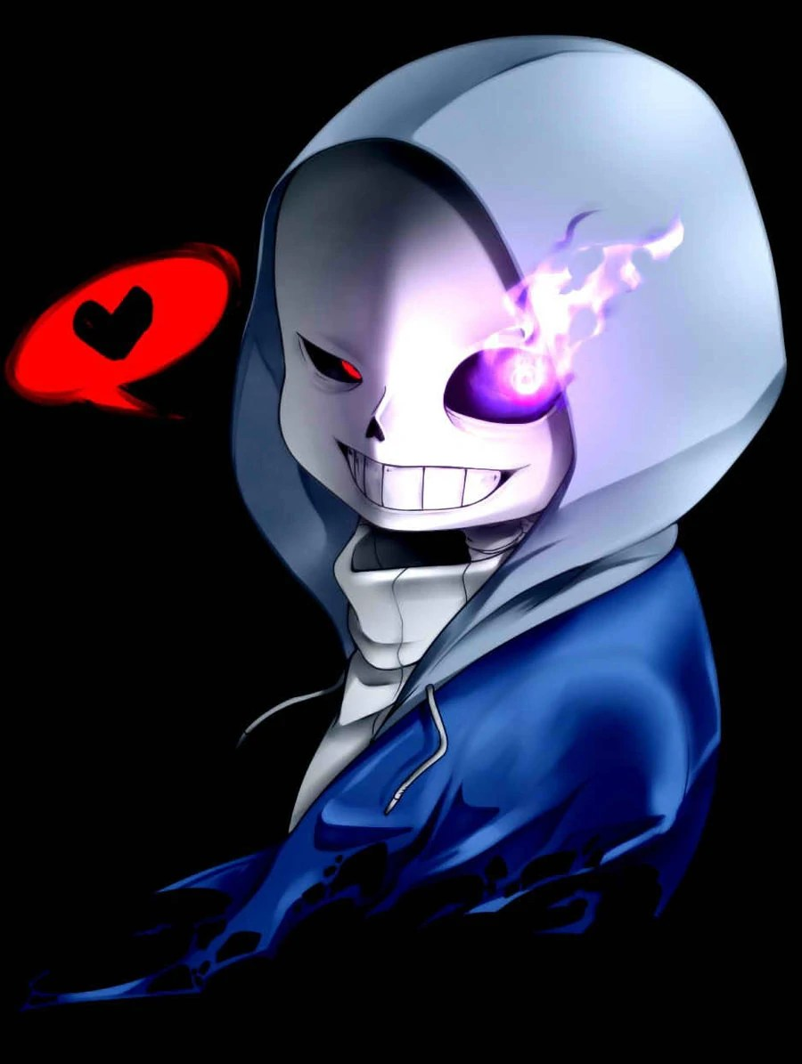 Undertale Sans X Dust Blue