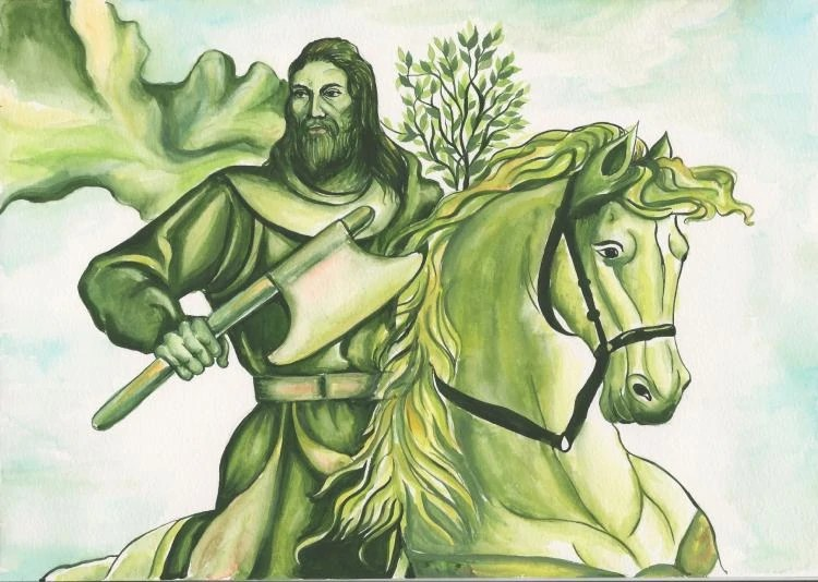 Green Knight Villains Wiki Fandom Powered By Wikia