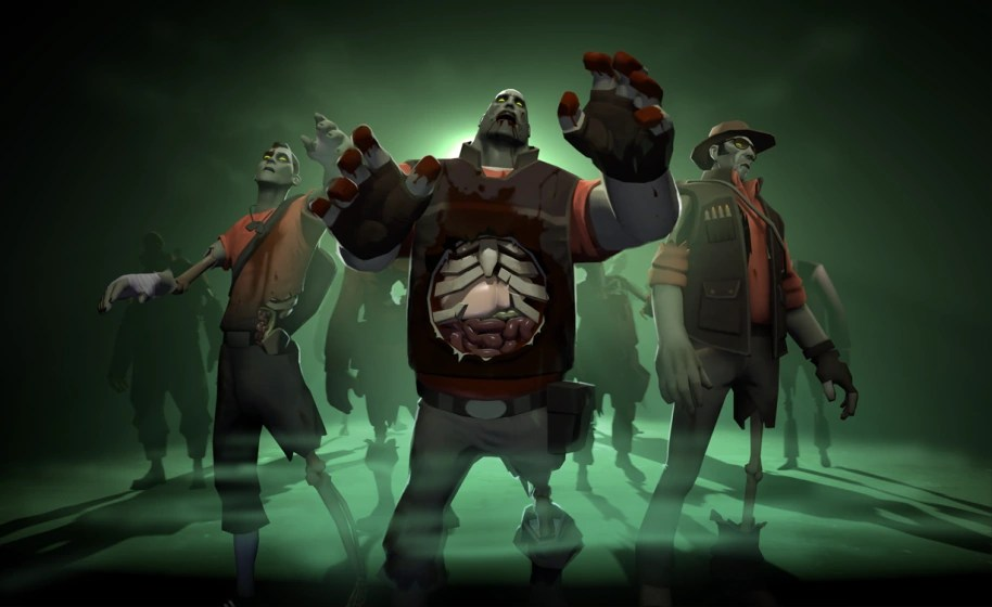 zombies team fortress 2