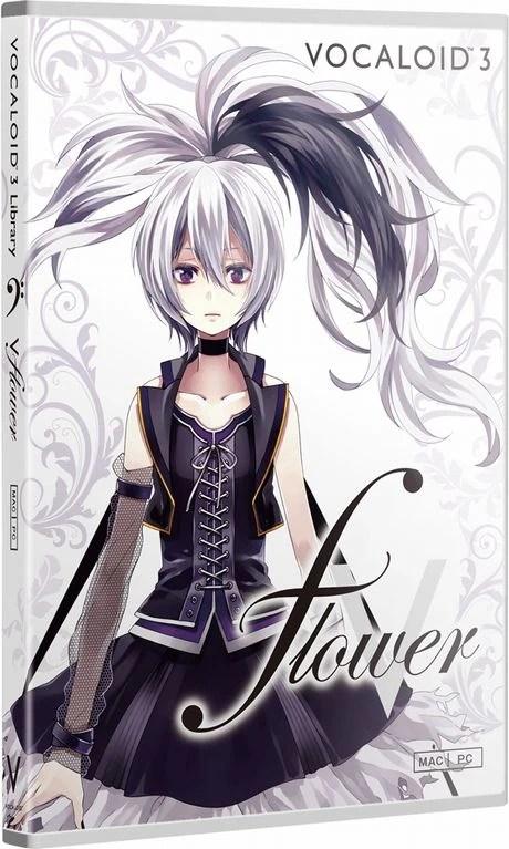 Purple Hair Anime Girl Wallpaper V Flower Vocaloid Wiki Fandom Powered By Wikia