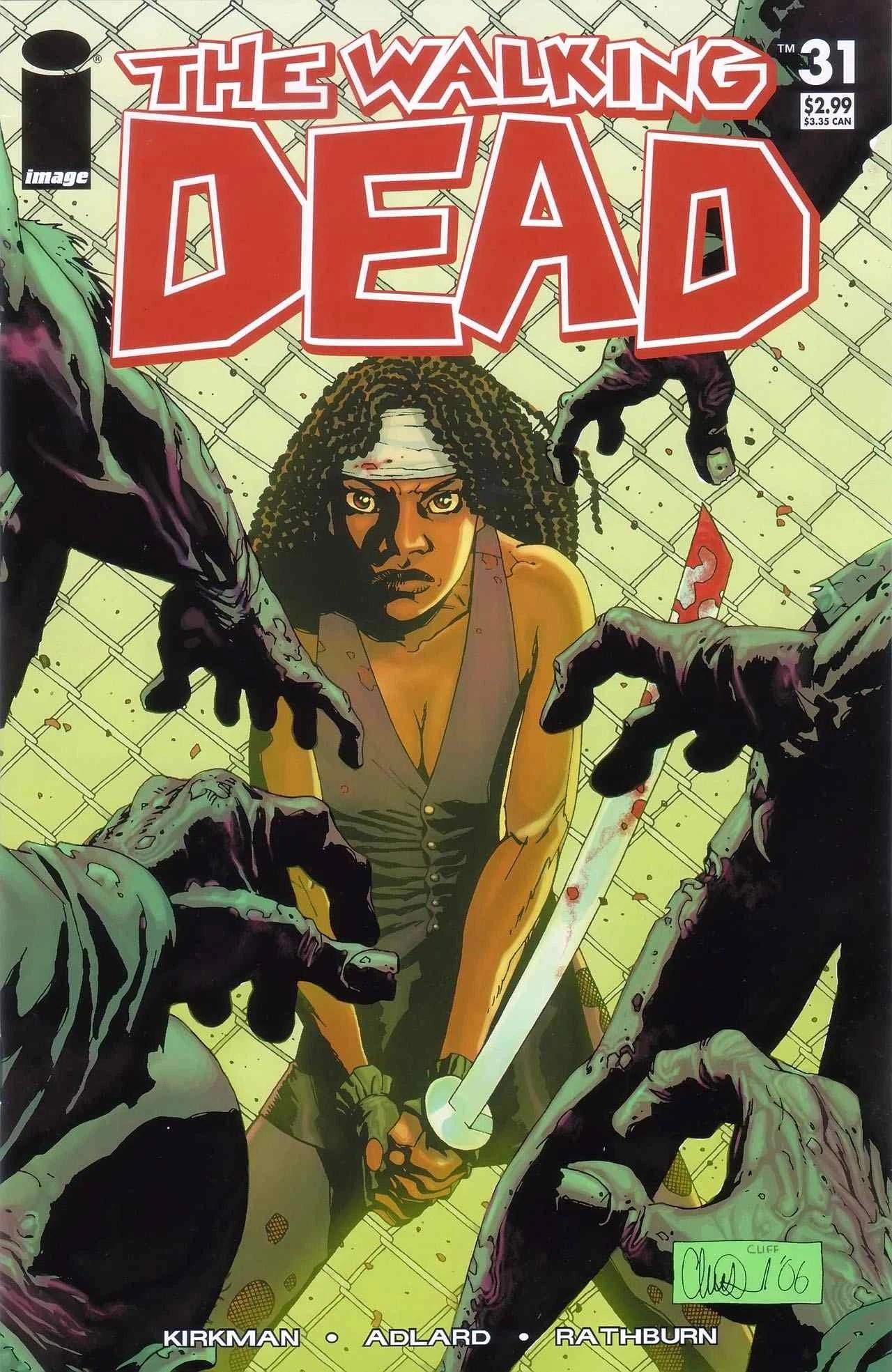 Issue 31  Walking Dead Wiki  FANDOM powered by Wikia