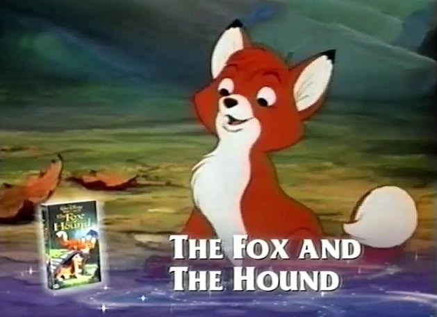 The Fox And The Hound Walt Disney Videos UK Wiki