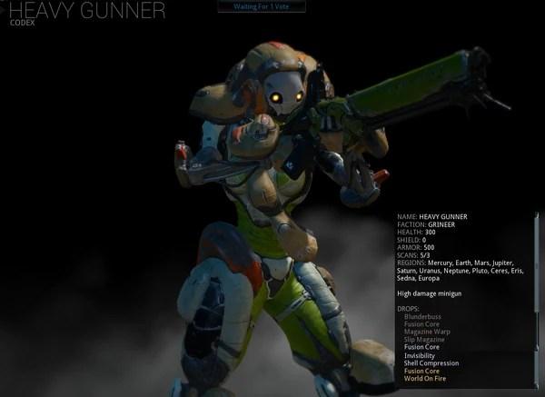 heavy gunner warframe wiki