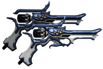 Perla Dual Pistol Skin WARFRAME Wiki FANDOM Powered By