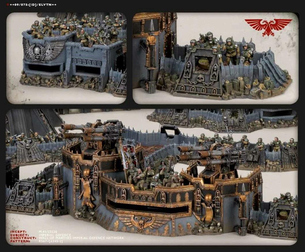 Wall Of Martyrs Defence Network Warhammer 40k Fandom