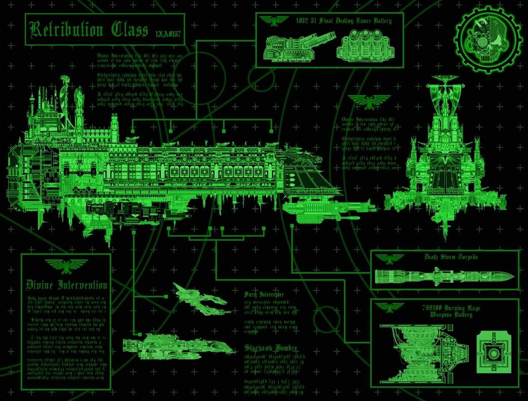 Retributionclass Battleship  Warhammer 40k  FANDOM