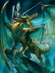 elf dragon warhammer fantasy prince dragons caledor lord elves princes artwork dark total riding edition wiki war sun rpg knight