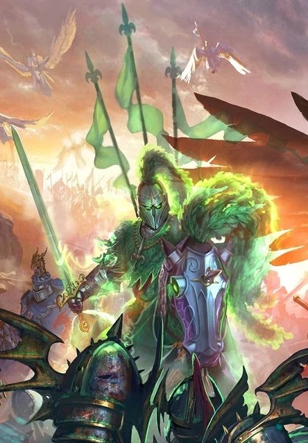 Green Knight Warhammer Wiki Fandom Powered By Wikia