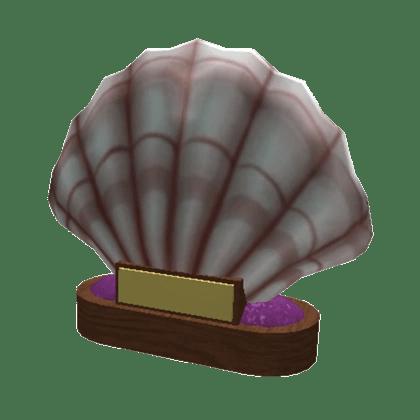 giant seashell trophy welcome