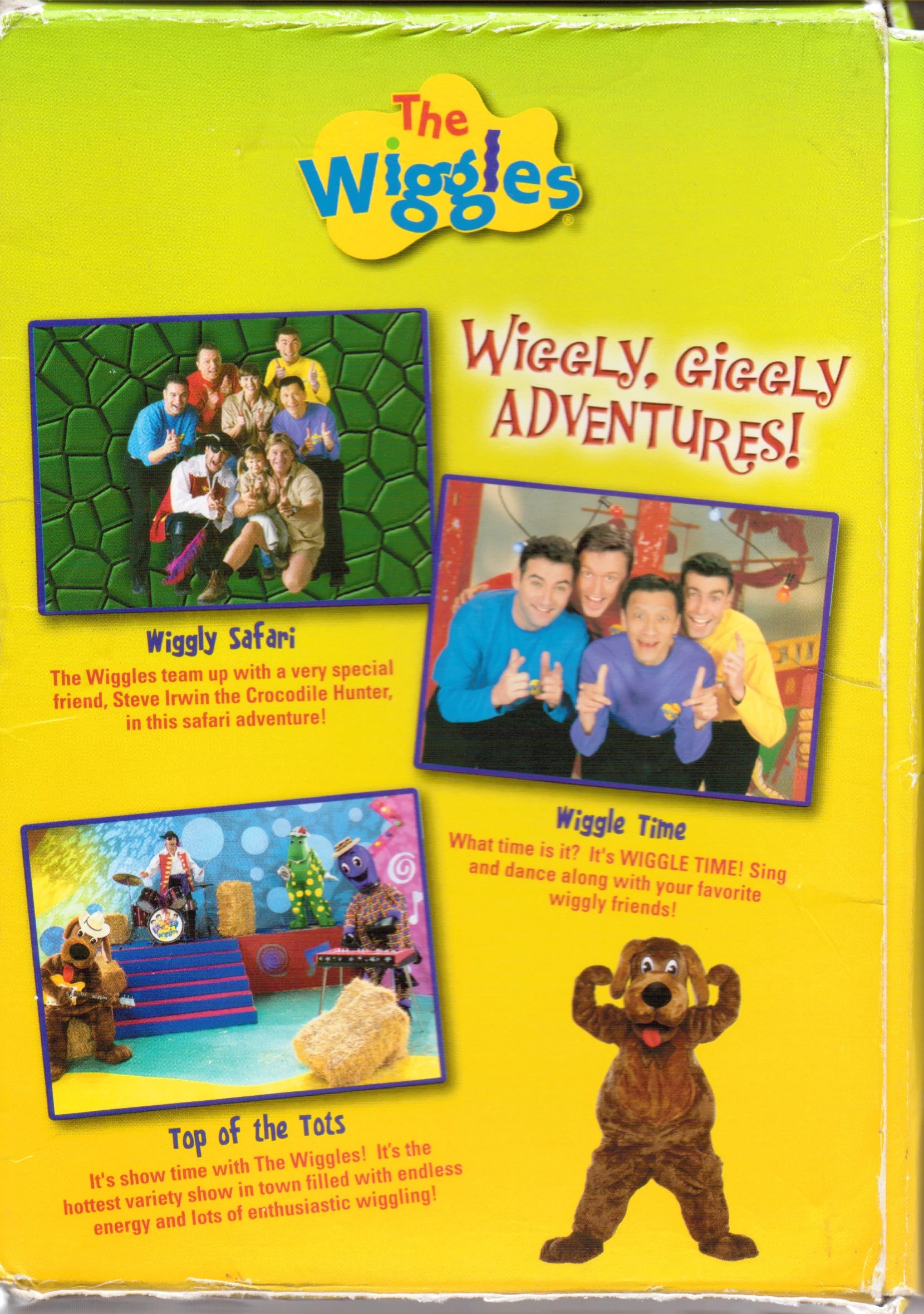 The Wiggles Vhs Wiggle Maina - Year of Clean Water