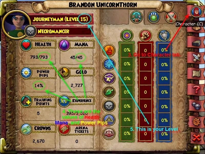 Level chart instructions  also image wizard wiki fandom rh wizard
