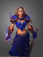 elf female warcraft wow elves race alliance highborne face elven wowwiki mage blood dorei quel magic warrior award wikia choice