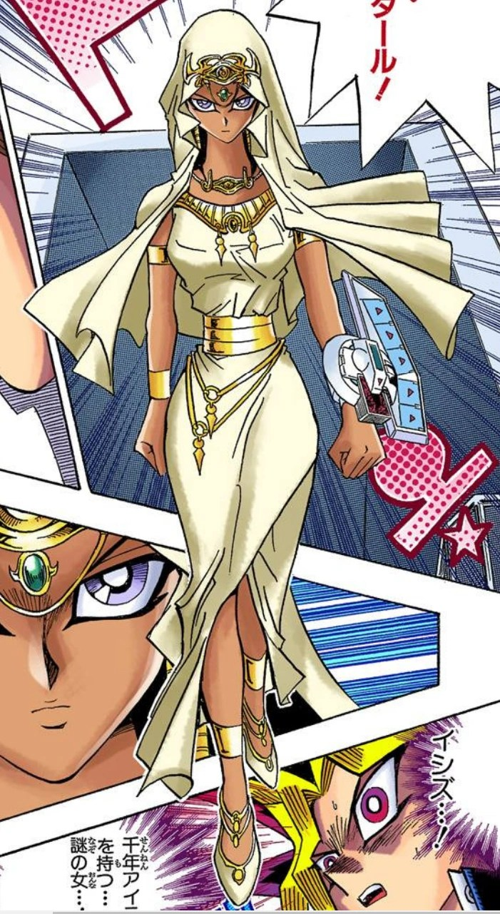 Ishizu Ishtar Manga Yu Gi Oh FANDOM Powered By Wikia