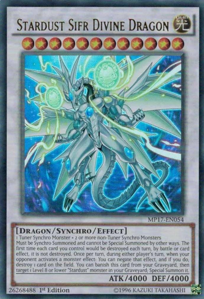 Stardust Sifr Divine Dragon  YuGiOh  FANDOM powered
