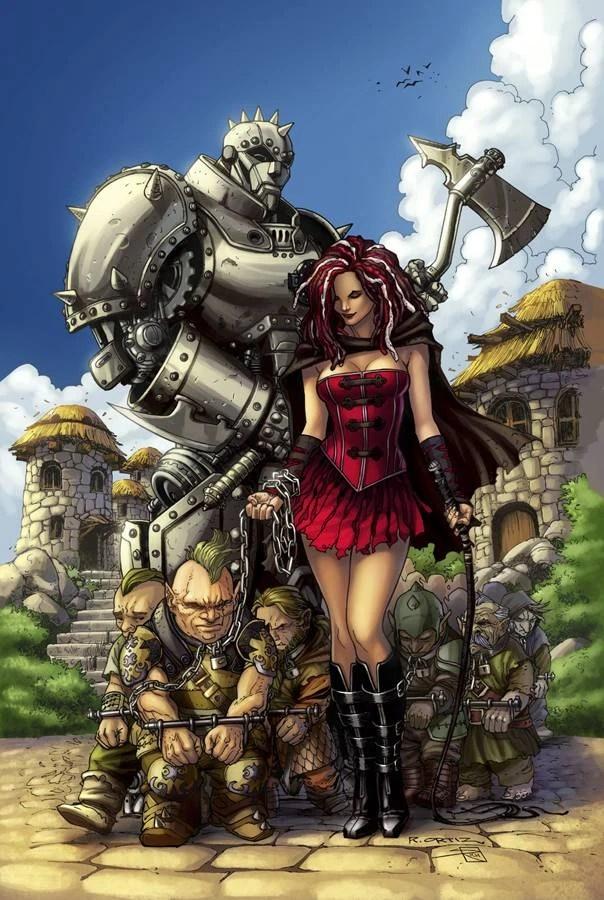 Grimm Fairy Tales Presents Warlord of Oz Vol 1 2  Zenescope Entertainment Wiki  FANDOM powered