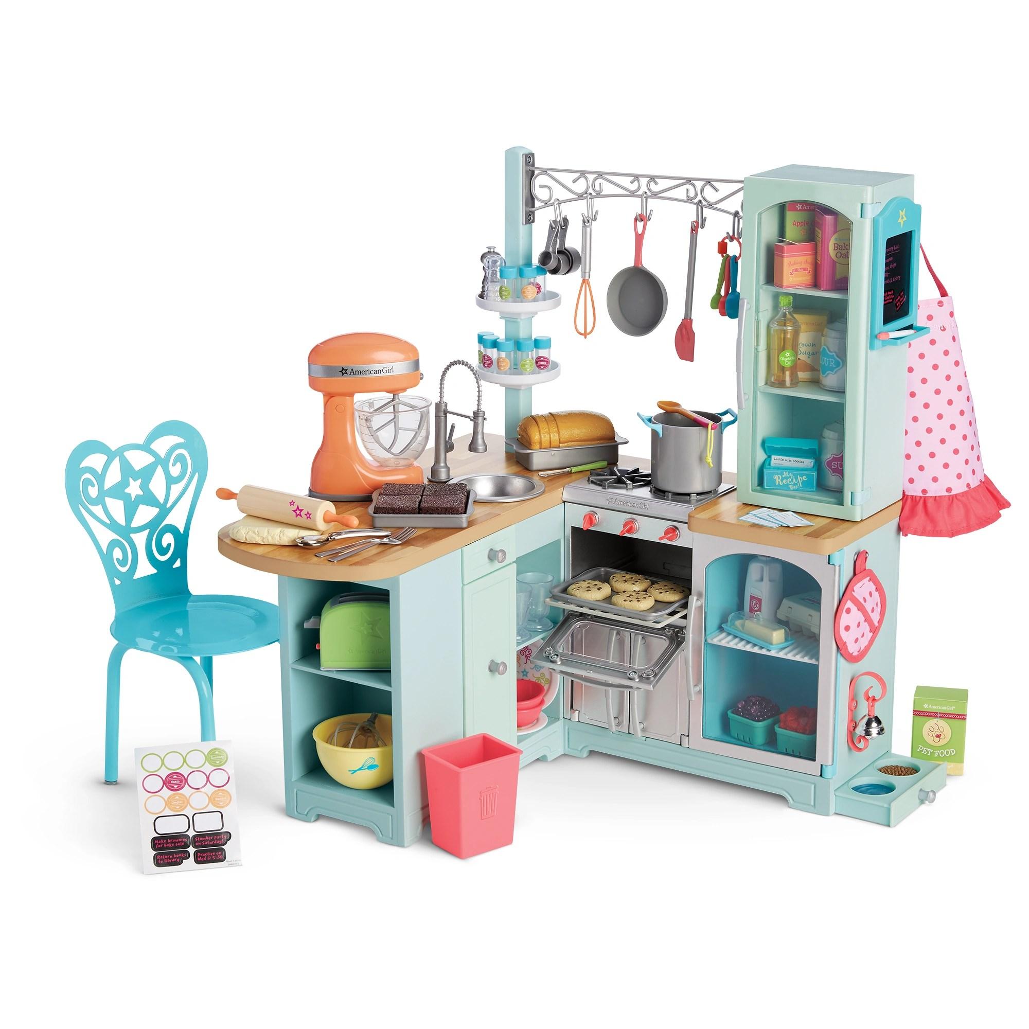 barbie gourmet kitchen organization products set american girl wiki fandom powered