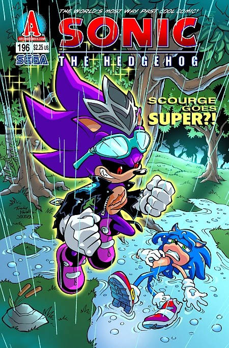 Archie Sonic the Hedgehog Issue 196  Mobius Encyclopaedia  Fandom powered by Wikia