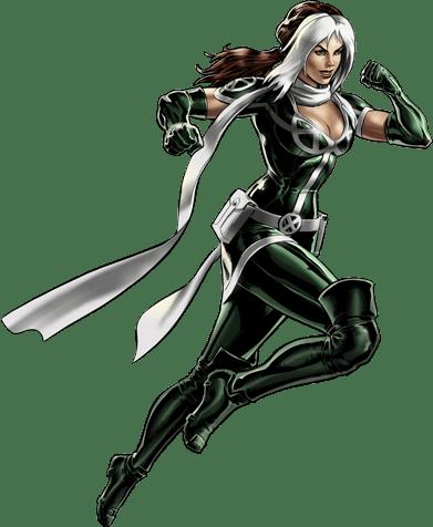 Image Modern Rogue Portrait Art Png Marvel Avengers