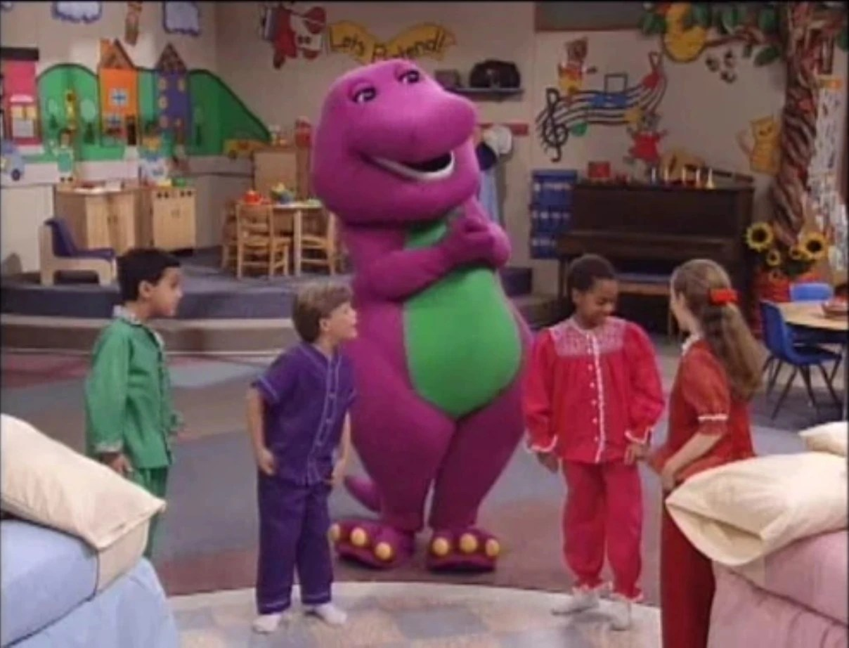 Getting Ready For Bed  Barney Wiki  FANDOM powered by Wikia