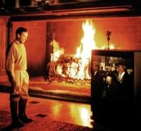 Image - Wayne Manor Fireplace.jpg | Batman Wiki | FANDOM ...
