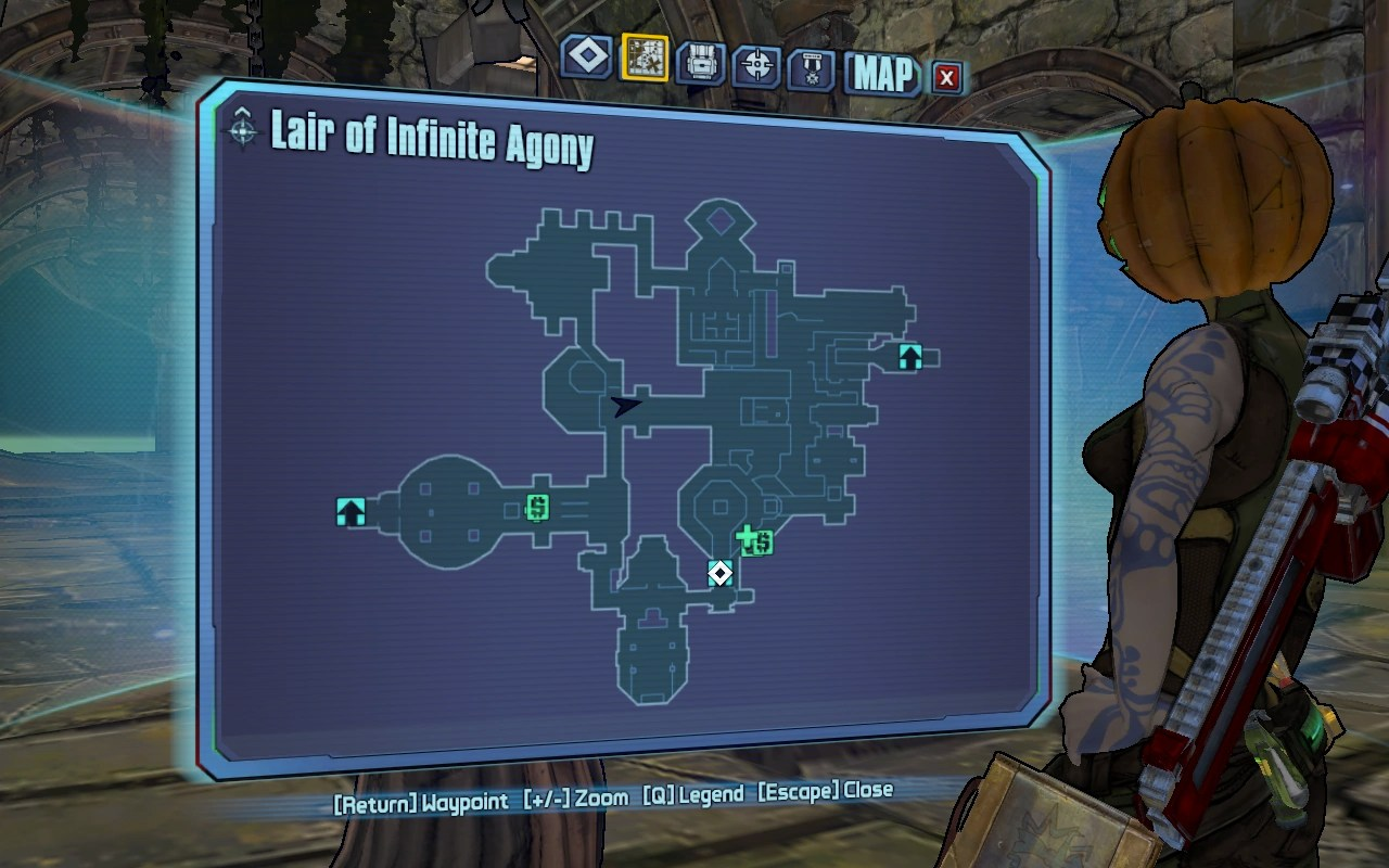 CategoryLair of Infinite Agony missions  Borderlands