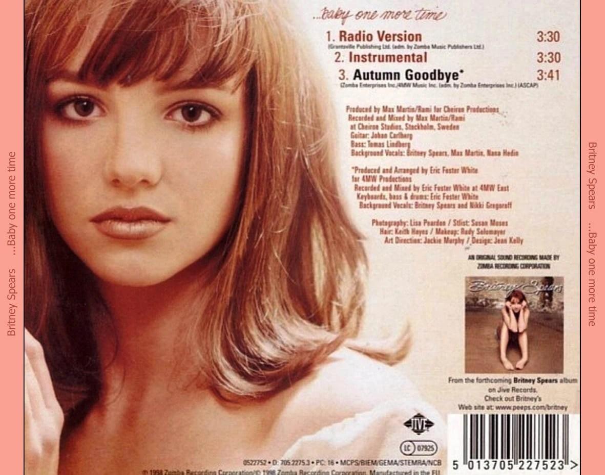 Britney Spears-baby Time Cd Single Spears Wiki Fandom