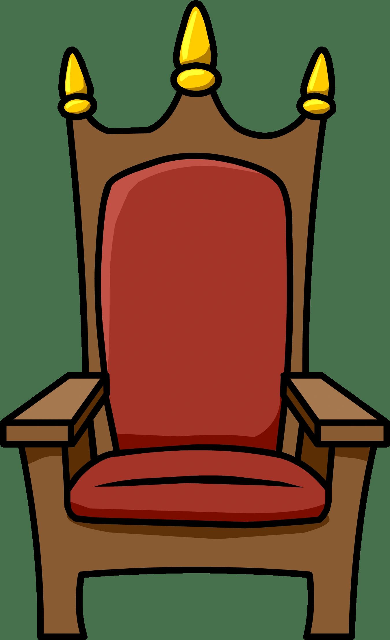 the chair king rectangular leg caps royal throne id 343 club penguin wiki fandom powered