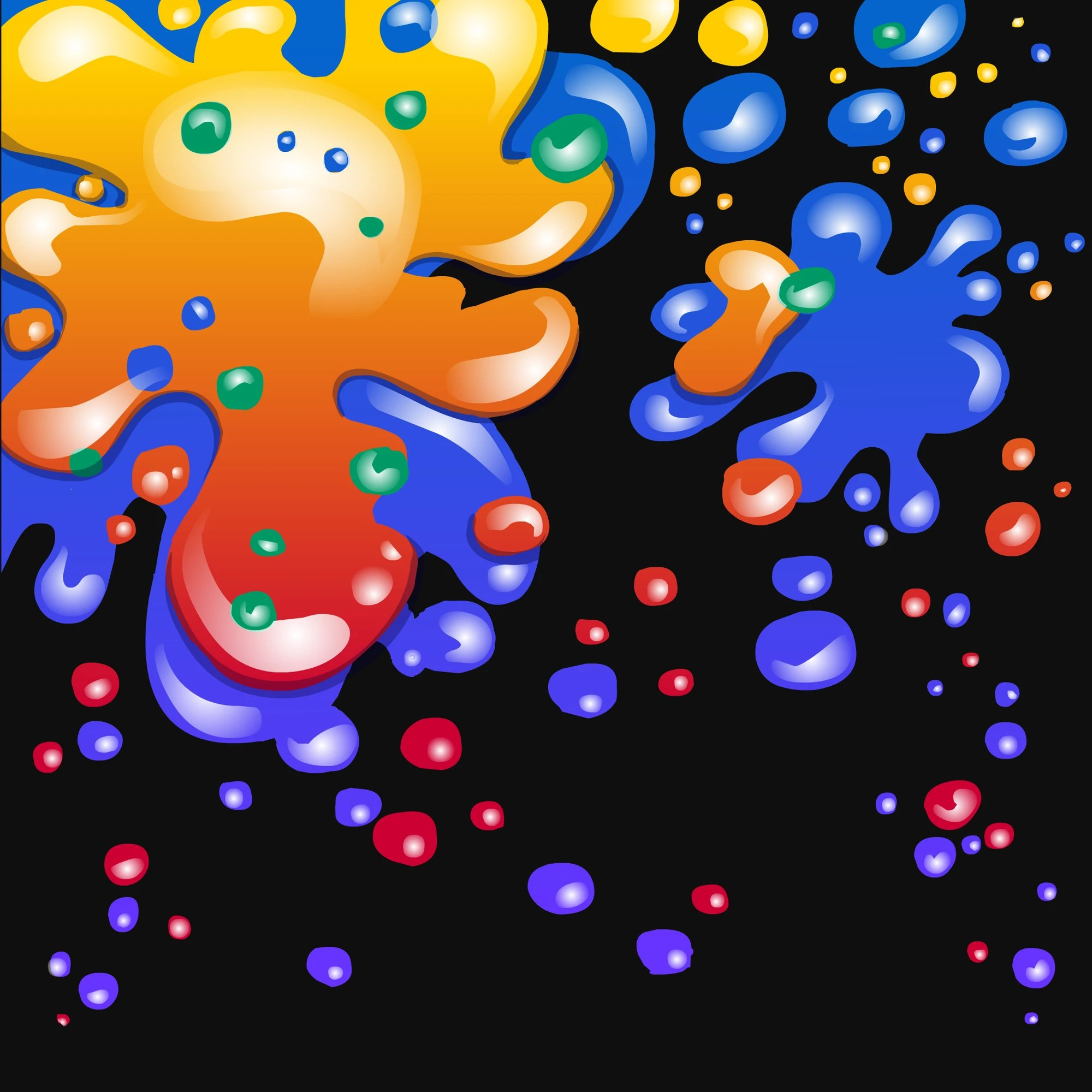 Paint Splatter Background Club Penguin Wiki Fandom Powered Wikia