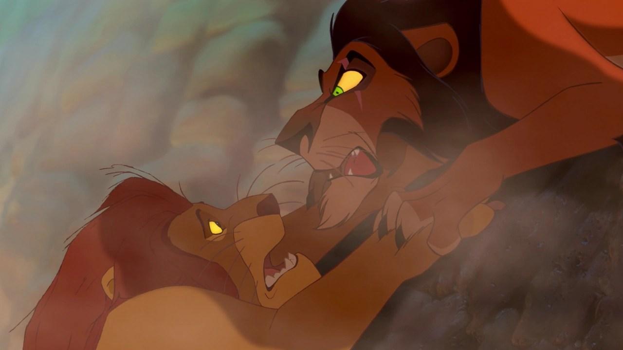 Image result for lion king death