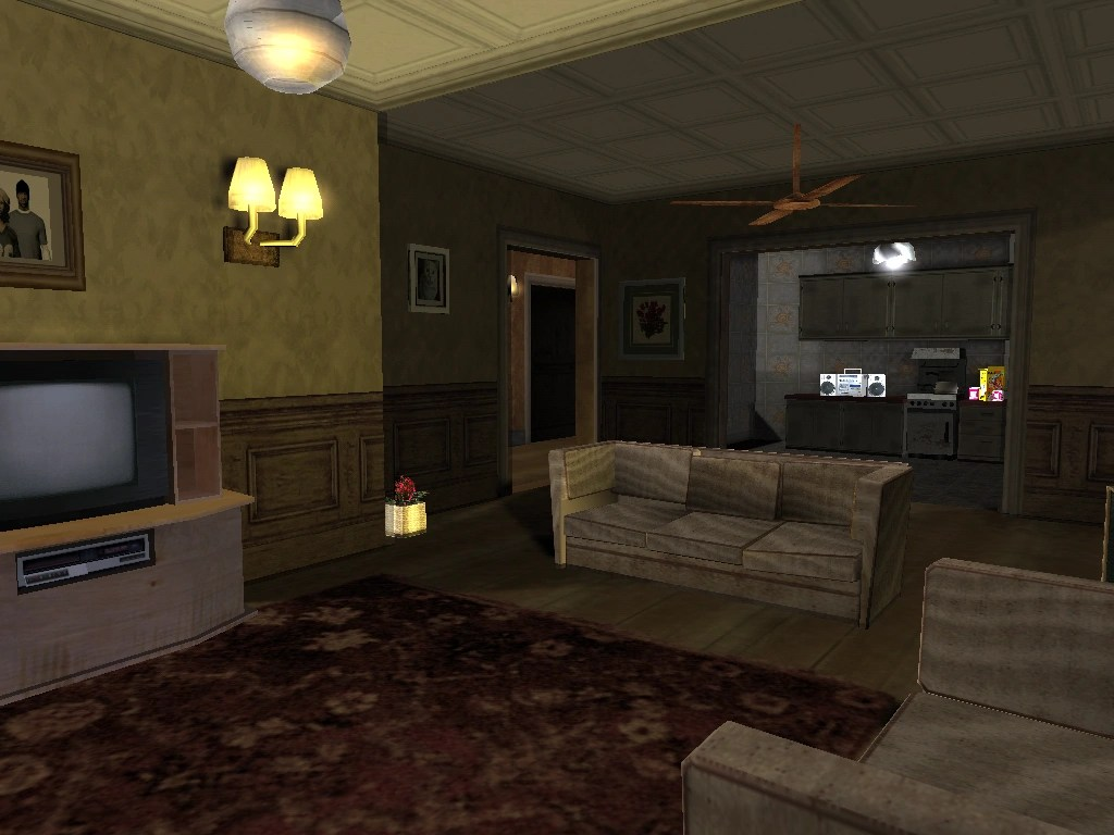 ArchivoInterior de la Casa de Sweet 1png  Grand Theft