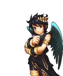 Image Dark Pit Kid Icarus Uprising Sprite 8 Png
