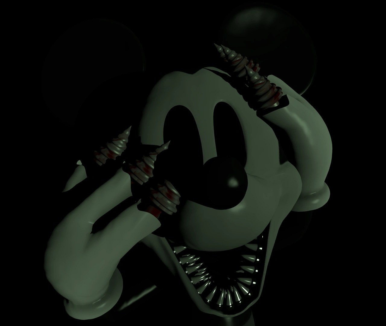 Nightmare Suicide Mouse  Five Nights At Freddys Roleplay