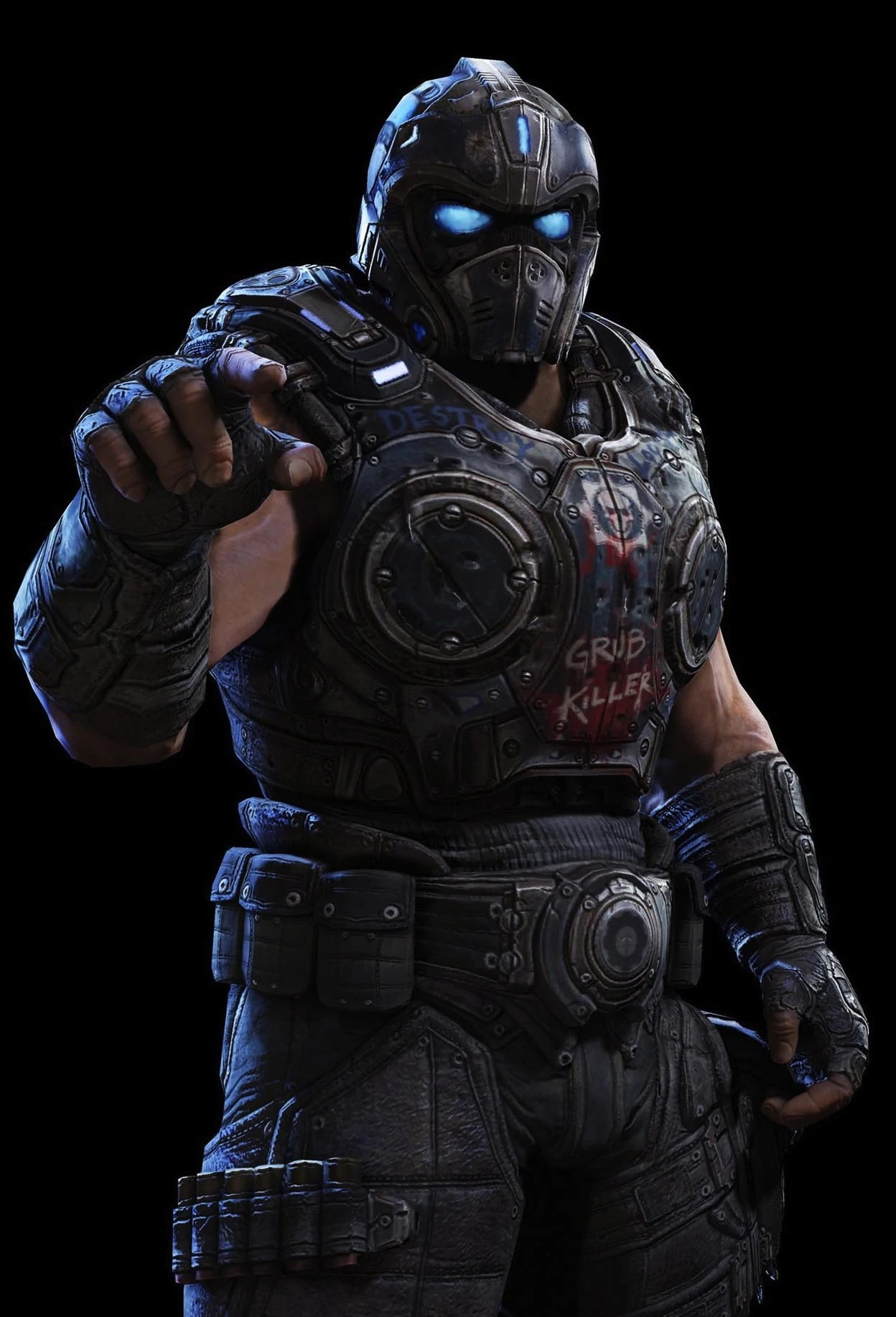 Clayton Carmine Gears Of War FANDOM Powered By Wikia