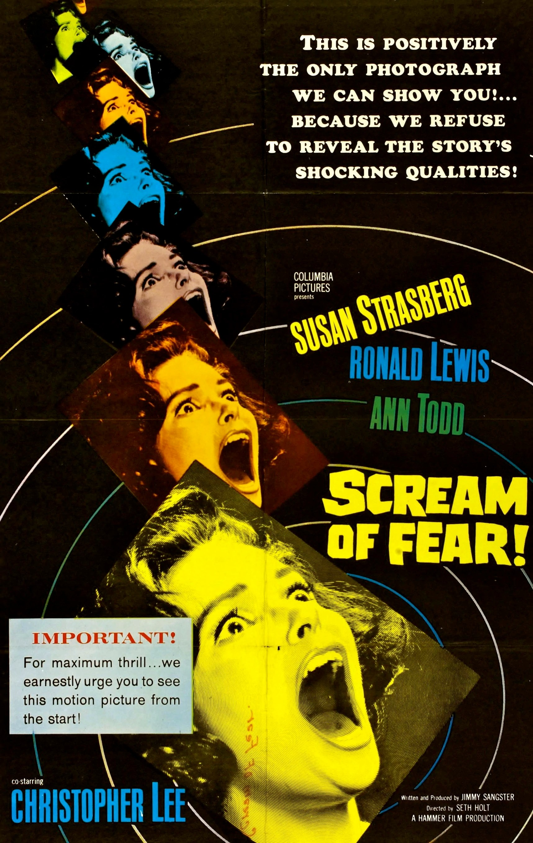 Pics of Fear Scream Movie Posters