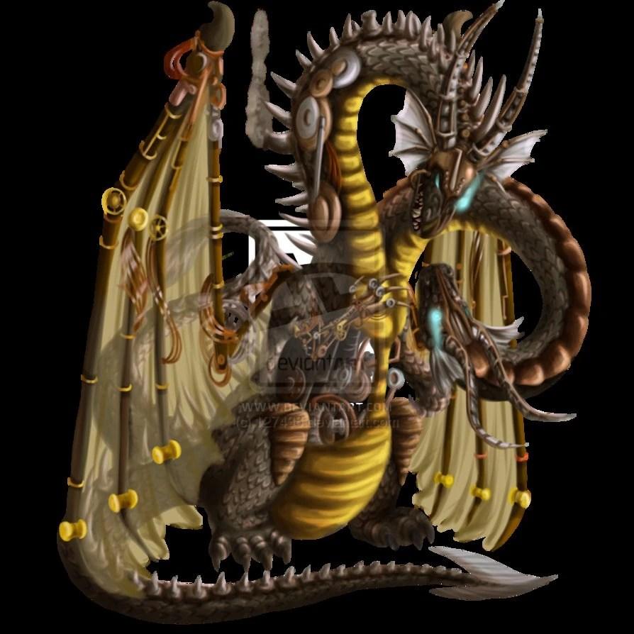 Steampunk Dragon Scc