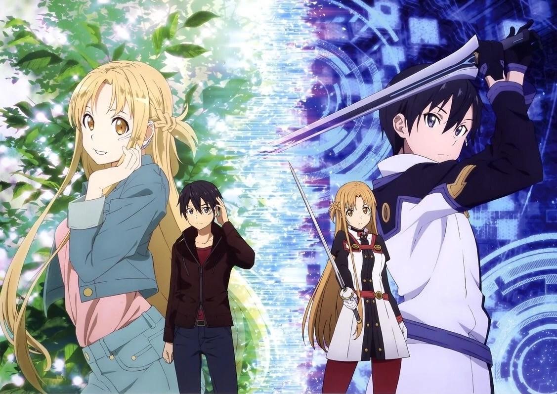 Image - Asuna & Kirito (Sword Art Online Ordinal Scale) Pic (5).jpg | Love Interest Wiki | FANDOM powered by Wikia