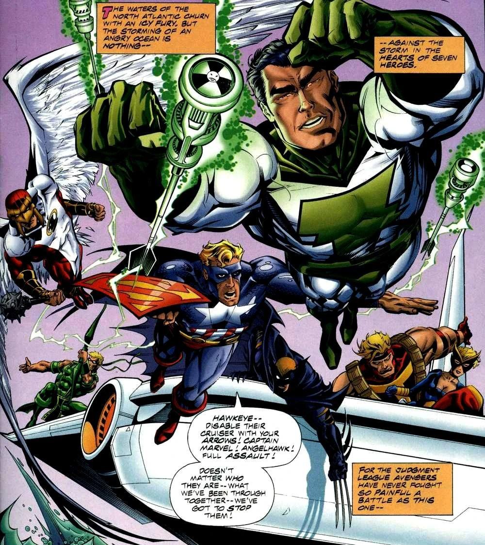 Darkseid Vs Thanos Marvel Vs Dc 1996