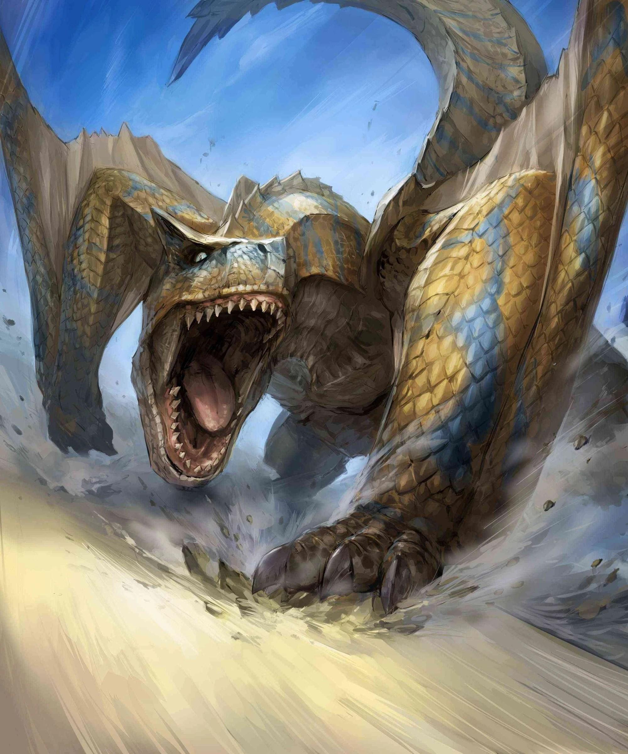 Monster Hunter Tigrex Art