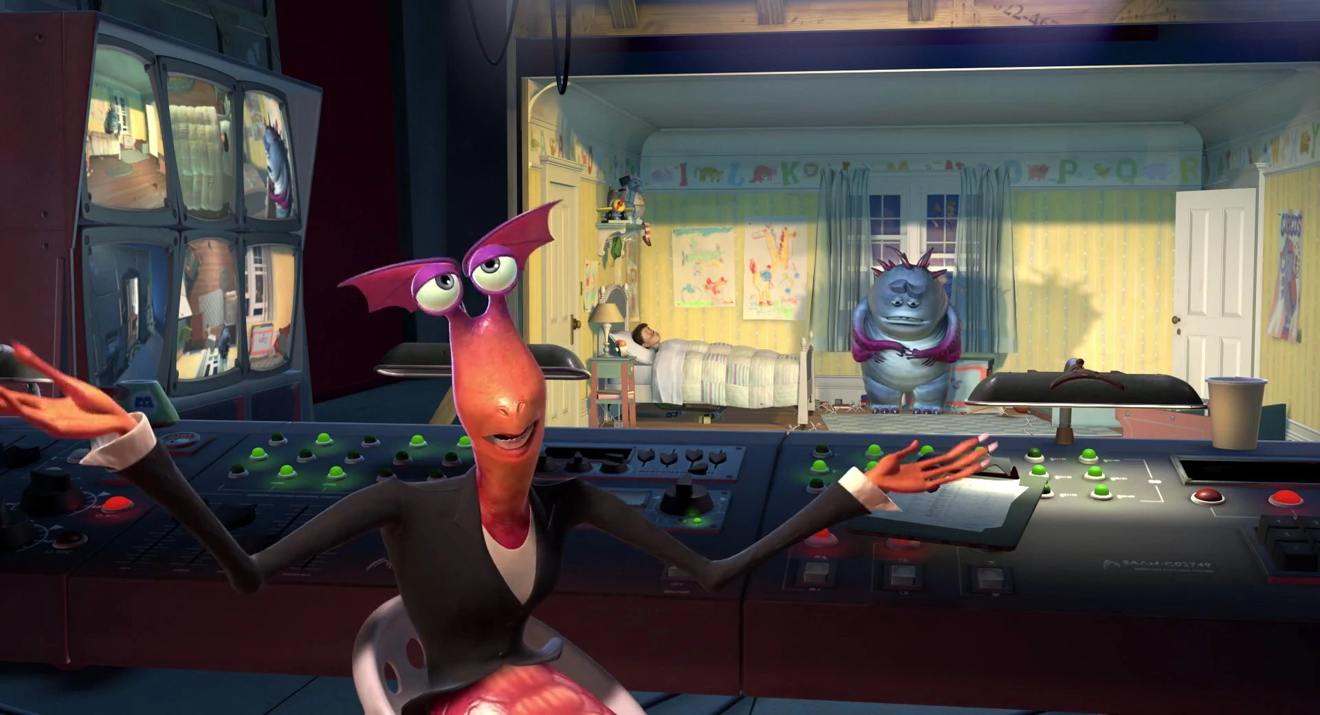 20+ Bile Monsters Inc Claws Ward Pictures and Ideas on Meta Networks