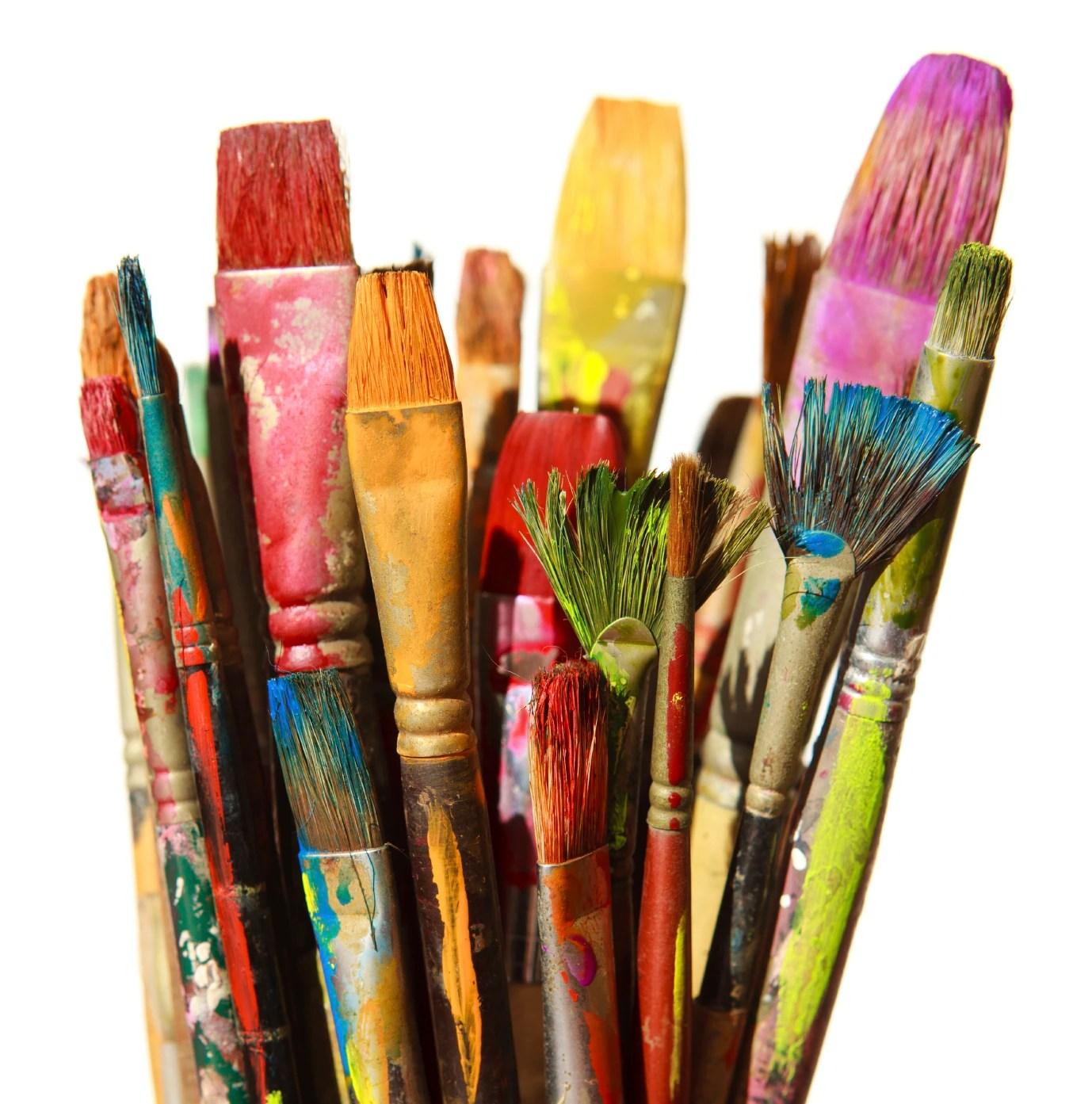 Art Paint Brush Painting