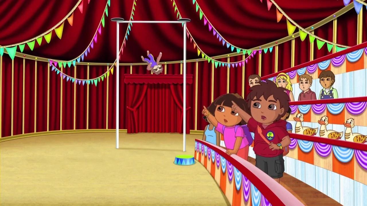 Dora Explorer Leon Circus Lion
