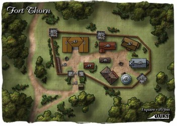 map pathfinder town fort fantasy village rpg maps thorn paizo google 1200 plan dnd farm wikia hamlet west forts carte