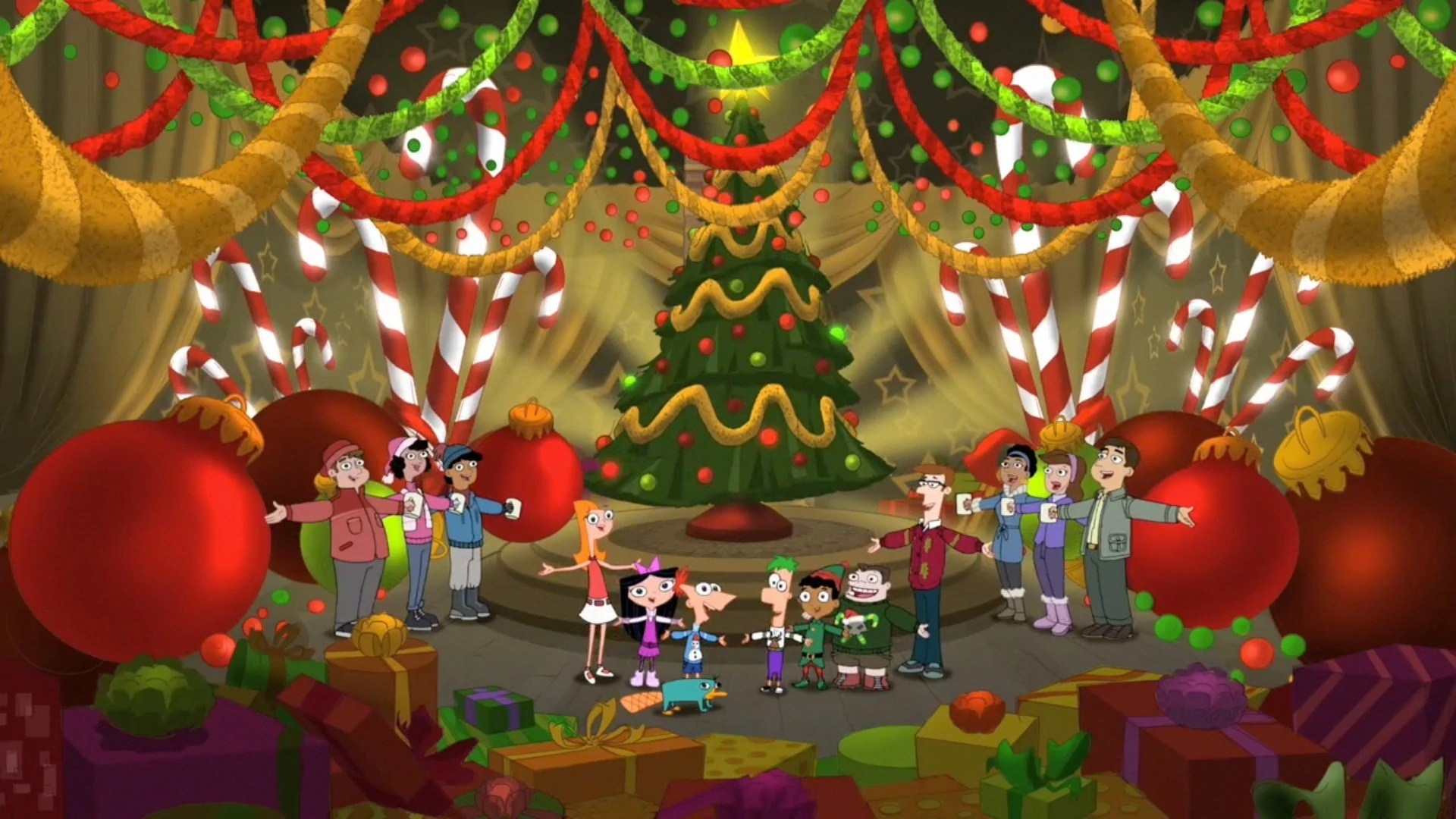 We Wish You A Merry Christmas Phineas And Ferb Wiki