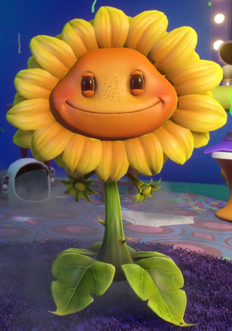 Solar Powered Moving Flower